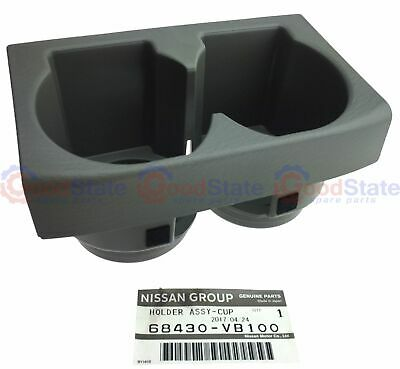 Genuine Nissan Patrol Early GU Y61 Colour Code K Cup Holder