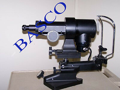 Keratometer Opthalmic Eye Instrument, Top Brand by BASCO Brand Free DHL Shipping