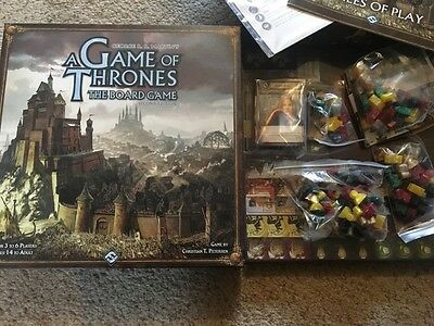 Game of Thrones Boardgame - Second Edition - Mint Condition