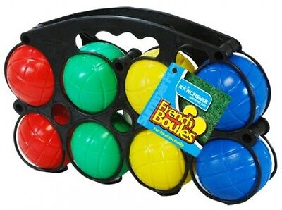 Kingfisher Plastic French Boules Garden Game Set