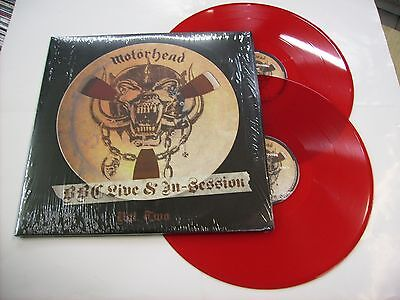 Motorhead - Bbc Live & In-Session Vol. Two - 2Lp Red Vinyl New 2008