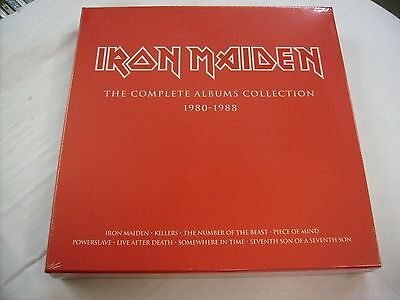Iron Maiden - The Complete Albums Collection - 3Lp Boxset New Sealed 2014