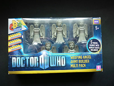 Dr Who - Army Builder Multi Pack WEEPING ANGEL (screaming) Figures - NEW