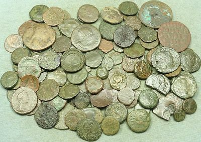 Lot Of 100+ Roman Bronze Coins