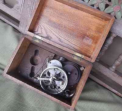Antique 1800 Improved Victor Reducing Wheel Steam Engine J. L. Robertson Sons NY