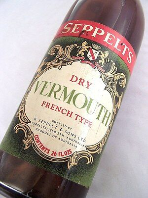 1958 circa NV SEPPELT Dry Vermouth Isle of Wine