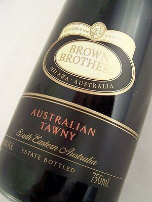 2005 circa NV BROWN BROTHERS Australian Tawny Port Isle of Wine
