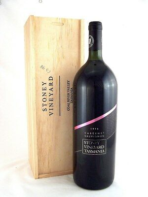 1998 STONEY Vineyard Cabernet Sauvignon MAGNUM 1.5L A Isle of Wine