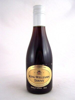 Miniature circa 1986 KING WILLIAMS TAWNY PORT 200ml Isle of Wine