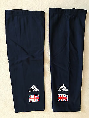 Team Gb_British Cycling Knee / Thigh Warmers_Large_New!!