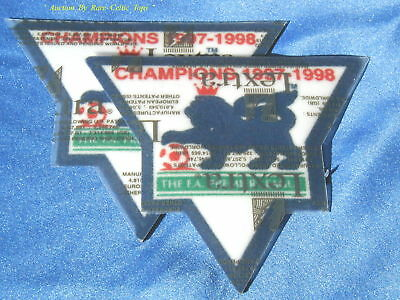 Lextra Barclays EPL 97-98 Champions Armpatches Arsenal