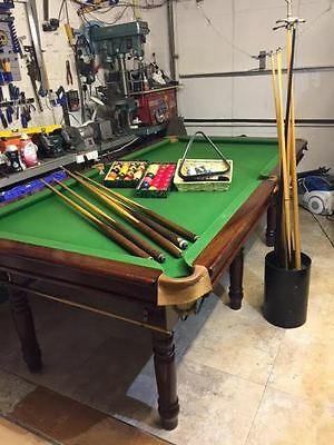 """Snooker table 7ft 6"""" x 4ft"""