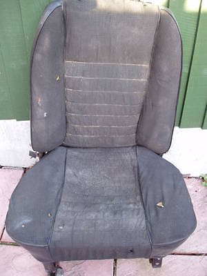 MK1 Escort RS2000 Front Seats - Genuine MK1 Roll Tops