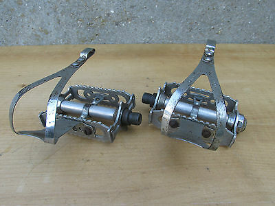 Lyotard 460D Pedales Velo Randonneur Course Vintage Road Bicycle Pedals