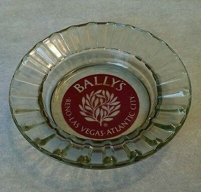Vintage BALLY'S Advertising Ashtray**Reno Las Vegas Atlantic City Hotel Casino**