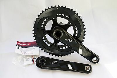 Sram Force 22 chainset 50/34, 172.5mm for GXP bottom bracket New