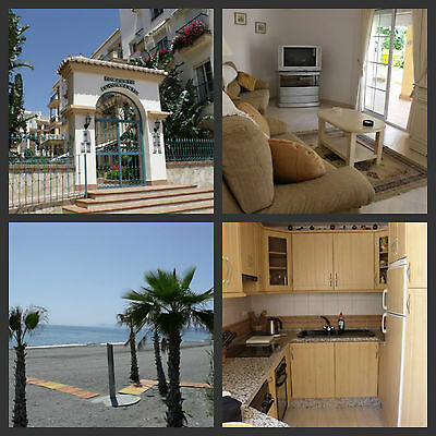 Easter Holiday Apartment in Spain, Torrox, 1 minute to beach, car not needed,