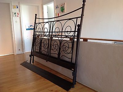 ikea metallbett 180x200 eur 10 50 picclick de. Black Bedroom Furniture Sets. Home Design Ideas