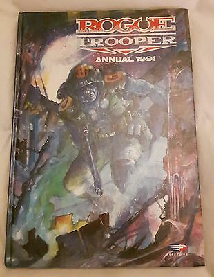 Collectable 2000AD annual - ROGUE TROOPER annual from 1991 - good cond