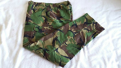Vintage British Army Issue Dpm 68 Pattern Combat Trousers Size 1