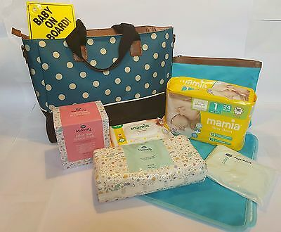 Bare Essentials Pre Packed Maternity Hospital Changing Bag