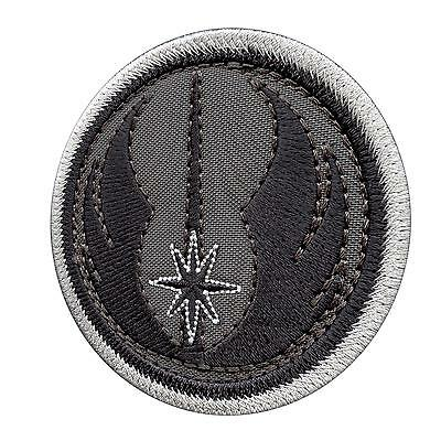 jedi order knight star wars gray subdued ACU bordado parche patch VELCRO® brand