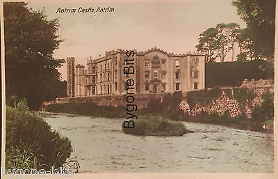 Antrim Castle Co Antrim Postcard Northern Ireland Irish.