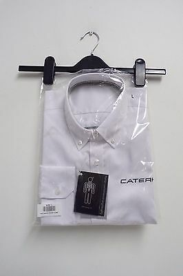 CATERHAM F1 TEAM ISSUE EXECUTIVE WHITE SHIRT MENS LARGE NEW in PACK