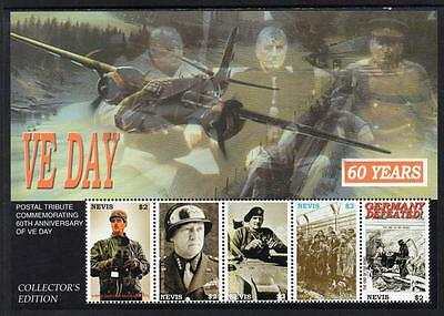 Nevis MNH 2005 The 60th Anniversary of Victory in Europe M/S