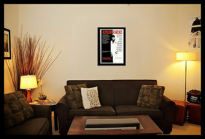 Scarface Movie Wall Art Poster Various Sizes, Framed Or Unframed