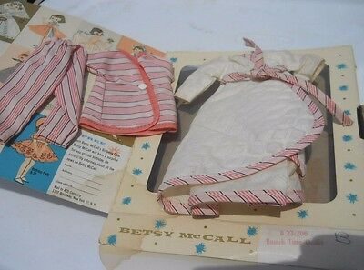 "Betsy McCall 8""  Doll Brunch Time Outfit in Original Box 1957 B-23"