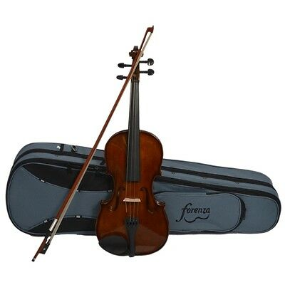 Forenza Prima 2 Violin Outfit with Case, Bow and Rosin. 4/4 - 1/10 Size