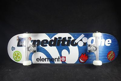 Skateboard Complete X1 Titanium Trucks Element Spitfire Plan B Santa Cruz Manton