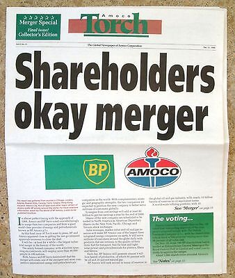 Amoco Torch Final Newspaper BP Merger Dec. 21, 1998 Vol. 8 No.23