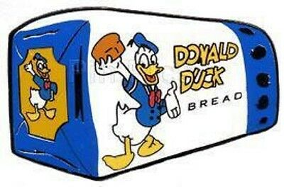 New Disney Official Rare 1934 Donald Duck Bread Limited Edition Trader Le Pin