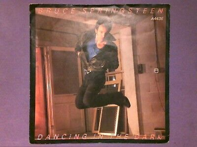 "Bruce Springsteen - Dancing In The Dark (7"" single) picture sleeve A 4436"