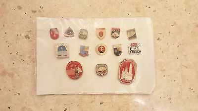 14 Russian Moscow Pins