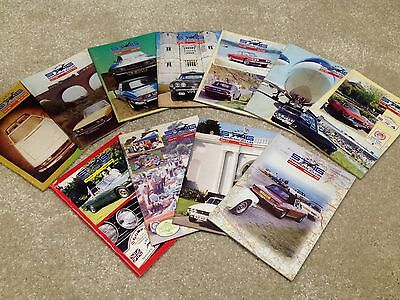 Triumph Stag Owners Club Magazines 1998 No's 203-213