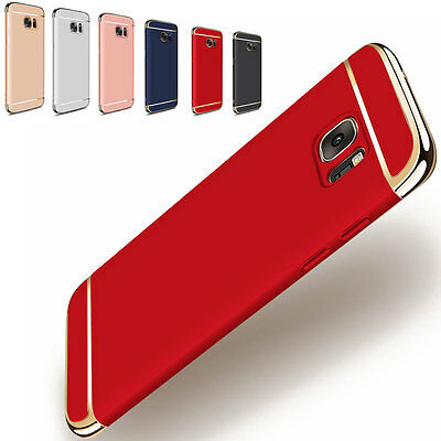 Thin Camera Protector Hybrid Hard Slim Back Case Cover For Samsung Galaxy Note 5