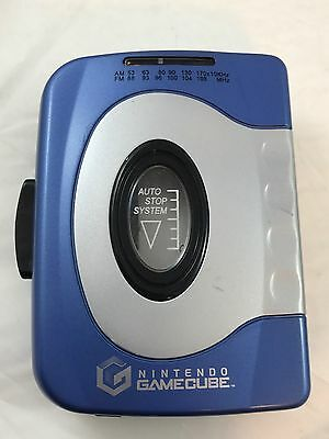 Nintendo GameCube Stereo Cassette Player  Tested And Works! Very Rare Promo Item