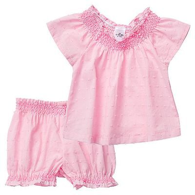 NEW Baby 2 Piece Top And Shorts Set