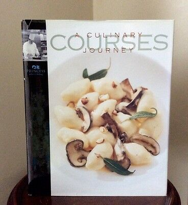 1st Edition - Courses A Culinary Journey. Signed by Chef Princess Cruises. 2002