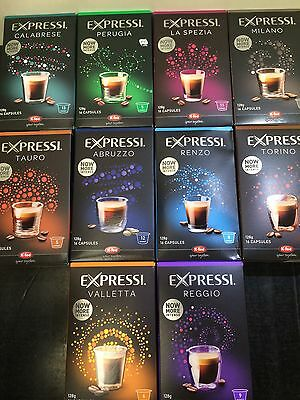 Expressi K-fee Coffee Machine Capsules Pods ALDI - 160 caps (10 boxes) u choose