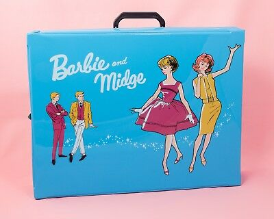 Barbie & Midge Reproduction Double Doll Carrying Case 50th Anniversary 2013 Mint