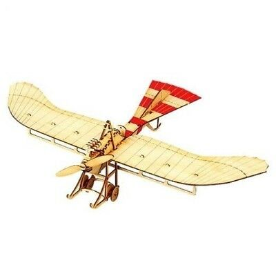 Wooden Model Kit Taube Aircraft Airplane 3D Woodcraft Construction Puzzle