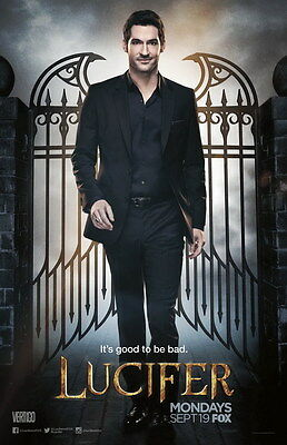"6785 Hot Movie TV Shows - Lucifer 1 24""x37"" Poster"