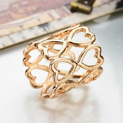 Heart-Shaped Scarf Holder Clip Ring Hollow Alloy Turquoise Women Buckle Brooch