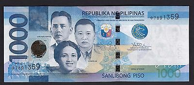 "NEW!! Philippines 1000 Pesos NGC ""2015A "" STAR (Replacement) note Uncirculated"