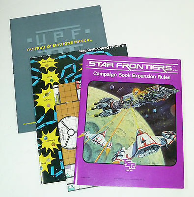 TSR (1983) Star Frontiers Campaign Book Expansion Rules, Knight Hawks Brief, RPG