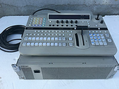 SONY DFS700 DME SWITCHER with Control Panel and cable SDI